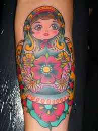 matryoshka tattoo art and designs page 21