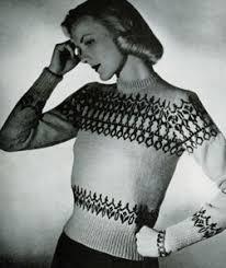 scandinavian sweater pattern no 5315 knitting patterns
