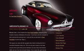 flash website template free free dark brown abstract cars css website template free css