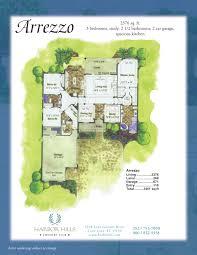 Country Club Floor Plans Arrezzo Harbor Hills Country Club