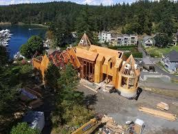 Cedar Landscape Timbers by Photos Rjm Construction By Sound Cedar