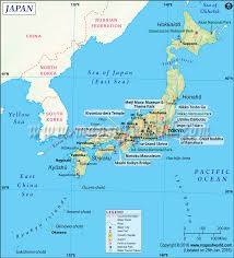 United States Map With Oceans by Japan Map Map Of Japan