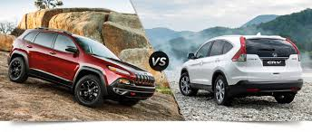small jeep cherokee towing capacity 2014 jeep cherokee vs honda cr v