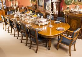 dining room table with 12 chairs antique dining table do you want to go large with that regent