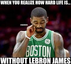 Nba Meme - nba memes kyrie irving missing lebron james like facebook