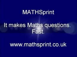mathsprint maths worksheet generator software for gcse igcse as
