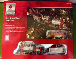 winter belle express christmas tree train set music lights