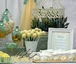 little big company the blog sage green lemon and white baby shower