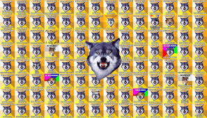 Meme Courage Wolf - courage wolf meme funny http whyareyoustupid com courage wolf