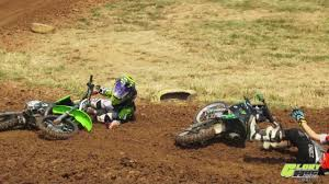 kids motocross bike mx crash video sky high mx swap out and 2 kids one rut youtube