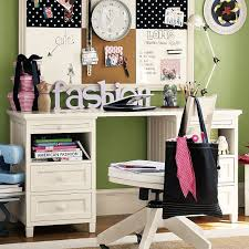 Pink Desk For Girls Funky Study Desk For Girls With White Eco Friendly Furniture And