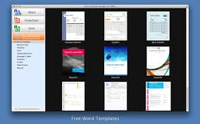 free templates bundle for office on the mac app store