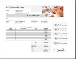 dentist receipt template free receipt templates