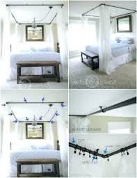 diy canopy bed curtains bed curtains diy magical bed canopy ideas will make you sleep
