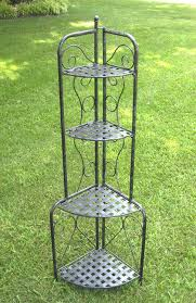 Large Bakers Rack Plant Stand Impressive Cornert Rack Picture Design Stand Home