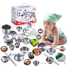 Stainless Steel Kitchen Set by Compare Prices On Stainless Steel Toys Online Shopping Buy Low