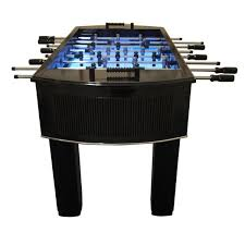 Foosball Table For Sale The Neon Light Up Foosball Table Model Neonfoos Soccergarage Com
