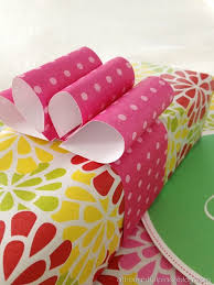 decorative wrapping paper best 25 wrapping paper bows ideas on diy bow out of