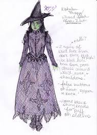 wicked witch costume costume design elphaba wicked witch of the west by anoch on deviantart