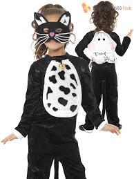 girls halloween black cat fancy dress costume book week