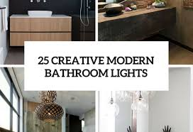 unique bathroom lighting ideas lighting modern bathroom lighting shining contemporary bathroom