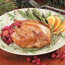 cornish hens with cranberry recipe taste of home