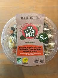 ma cuisine fr ma salade repas bio