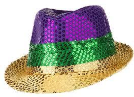 mardi gras hat sequin mardi gras fedora hat sm001ct sm001ct guard headwear