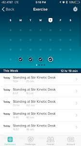 Fitbit Standing Desk Stir Kinetic Desk M1 Review The Smartest Desk 2 990 Can Buy