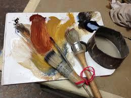 yellow ochre and red ochre from the studio of pierre finkelstein