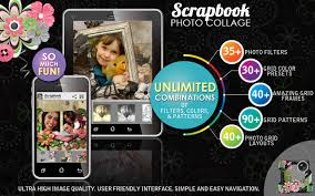 scrapbook photo collage maker android apps on google play