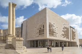 architecture gif experience renzo piano s valletta city gate through this captivating