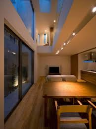 Japanese Minimalist Living Minimalist Japanese Residence Blends Privacy With An Airy Interior