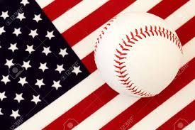 A American Flag Pictures An American Game American Flag U0026 Baseball Stock Photo Picture
