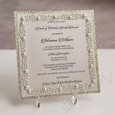 sle wedding invitations pearls of wisdom bridal shower invitation card invitations