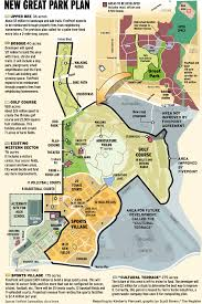 Irvine Map Great Park To Take Shape In 5 Years U2013 Orange County Register