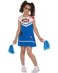 Zombie Cheerleader Not So Cheery Girls Zombie Cheerleader Costume U2013 Costume Zoo