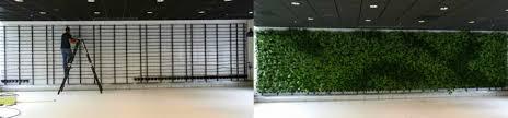 green living walls