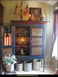 Country Primitive Home Decor Primitive Americana Decorating Ideas Rustic Colonial Style
