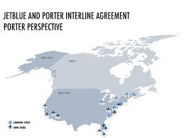 Iad Airport Map Jetblue And Porter Signed Interline Agreement Updated