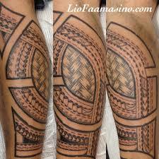 polynesian tribal leg sleeve for tattooshunt com