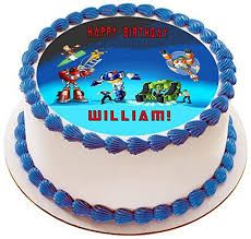 transformers rescue bots 1 edible cake or cupcake topper edible transformers rescue bots 1 edible cake or cupcake