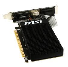 Vga Pci Express msi gt 710 1gd3h lp vga pci e x16 grafikkarten 盪 komponenten