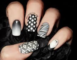 got polish challenge skittle matte black and white the