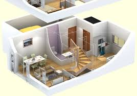 3d architectural floor plans furniture runevandli 3d floorplan 534x300 attractive 3d floor plan