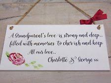 grandparent plaques grandparents decorative plaques signs ebay