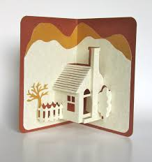 pop up house 5 e architect home pop up 3d card home décor origamic architecture handmade
