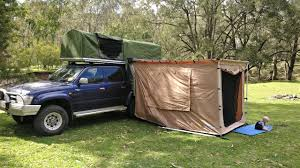 diy offroad camper awning foxwing style youtube bundutec homemade off road in roof