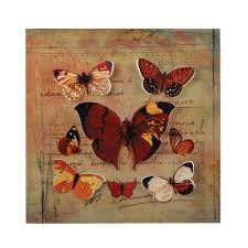 Butterfly 3d Wall Art by Wholesale Fun 3d Butterfly Wall Plaque Autumn Color Butterflies