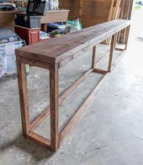 Wood Sofa Table by 30 Diy Sofa Console Table Tutorial Outdoor Tables Sofa Tables